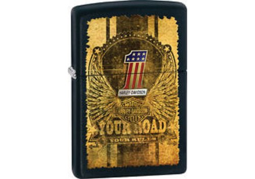 Lighter Zippo Harley Davidson Your Road