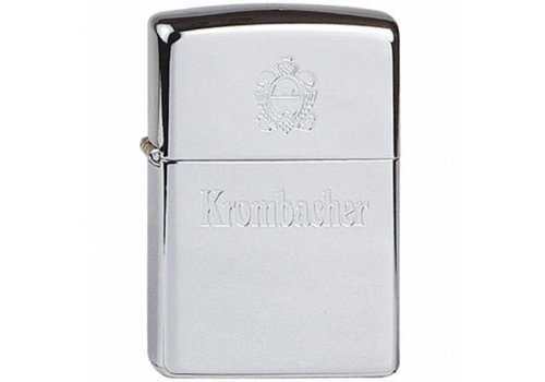 Lighter Zippo Krombacher Chrome