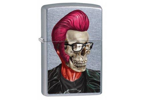 Aansteker Zippo Rockabilly Skull