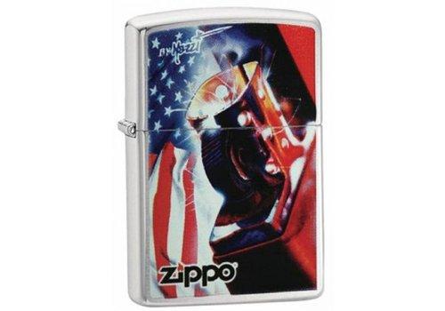 Lighter Zippo Mazzi USA Flag