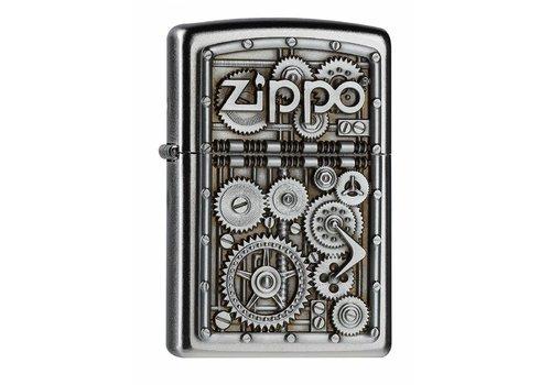 Lighter Zippo Gear Wheels Emblem