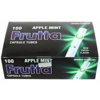 Frutta Click Filter Tubes Apple Mint