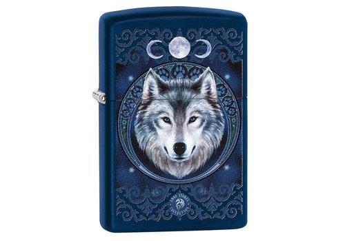 Lighter Zippo Anne Stokes Wolf