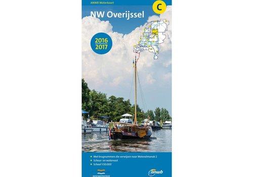 Waterkaart C noord-west Overijssel 2016-2017