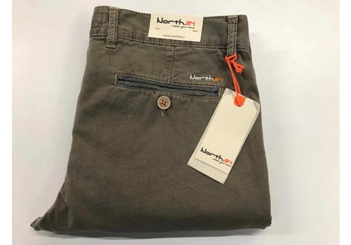 North84 Chino Khaki (print)