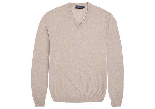 Hackett FN GG Merino V Knitwear Beige