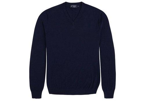 Hackett FN GG Merino V Knitwear Midnight