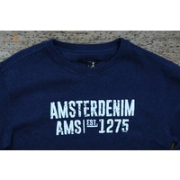 AM1703-500 Sem Crewneck 579 Navy Blue