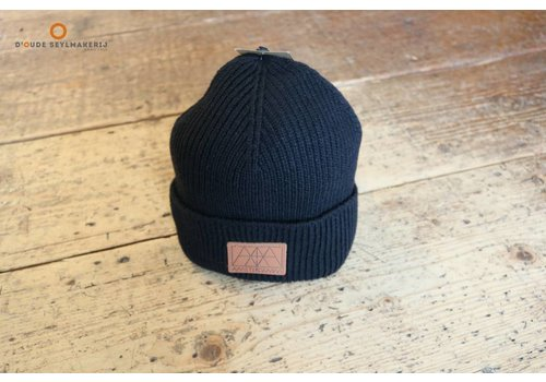 Amsterdenim Rob Knitted hat Black