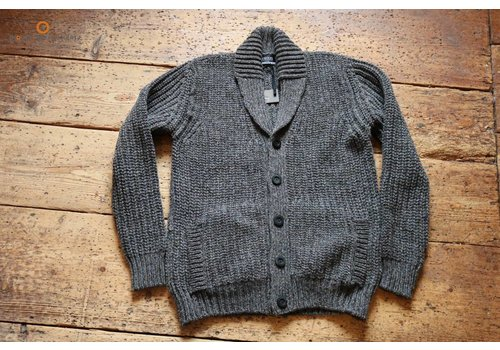 Fisherman out of Ireland Rock garden chunky ribbed cardy