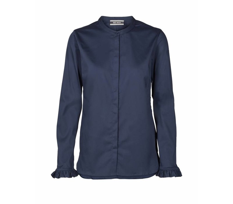 119190 Mattie Shirt Night Blue 411