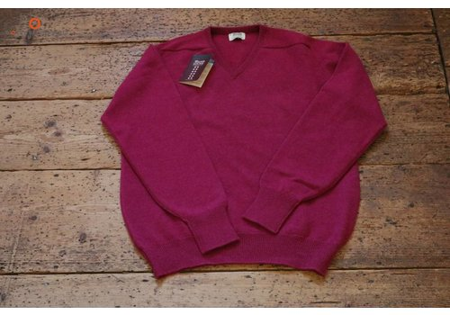 William Lockie Lambswool sweater V-neck Vegas