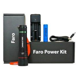 Monello Faro - LED Zoombare Inspectielamp + 2400 mAh Li-Ion Accu