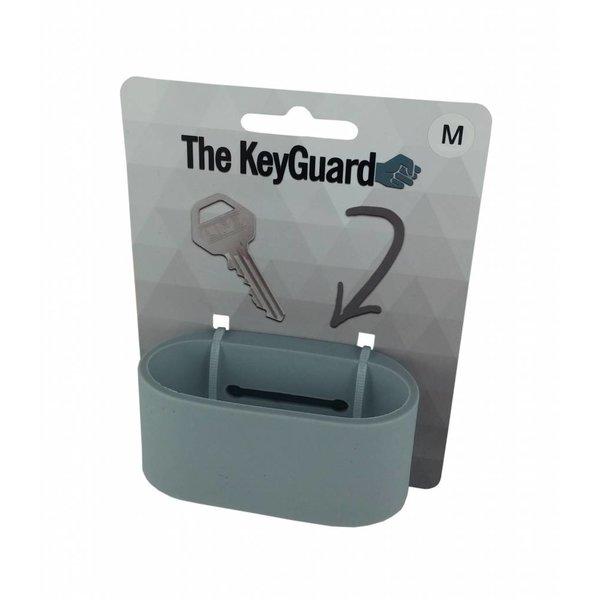 Silicone sleutelarmband - Grijs