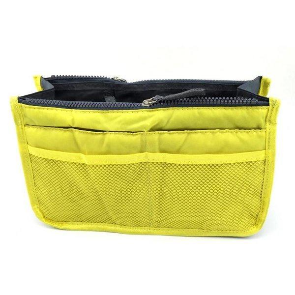 Bag in bag hand tas organizer – Geel