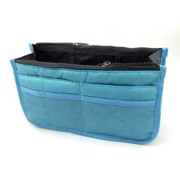 Bag in bag hand tas organizer – Licht blauw