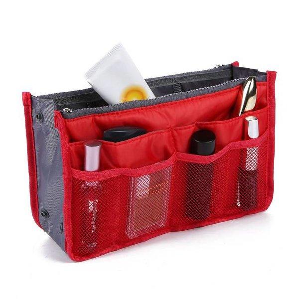 Bag in bag hand tas organizer – Rood