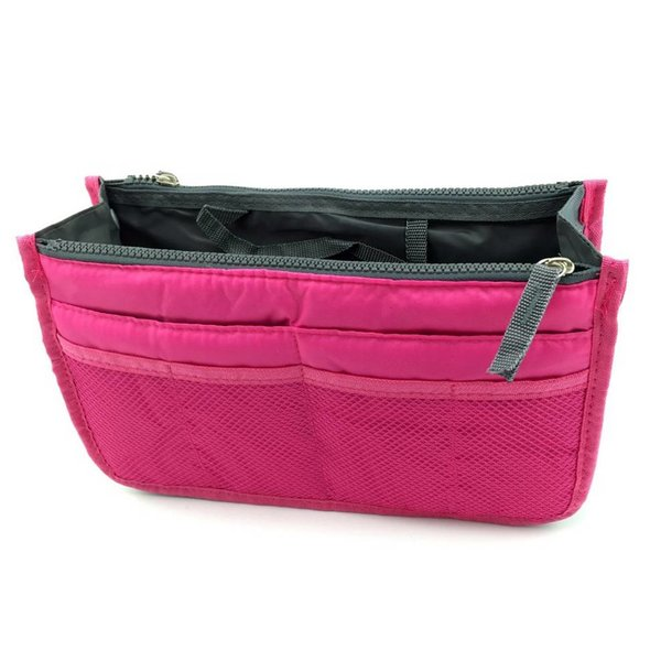Bag in bag hand tas organizer – Roze