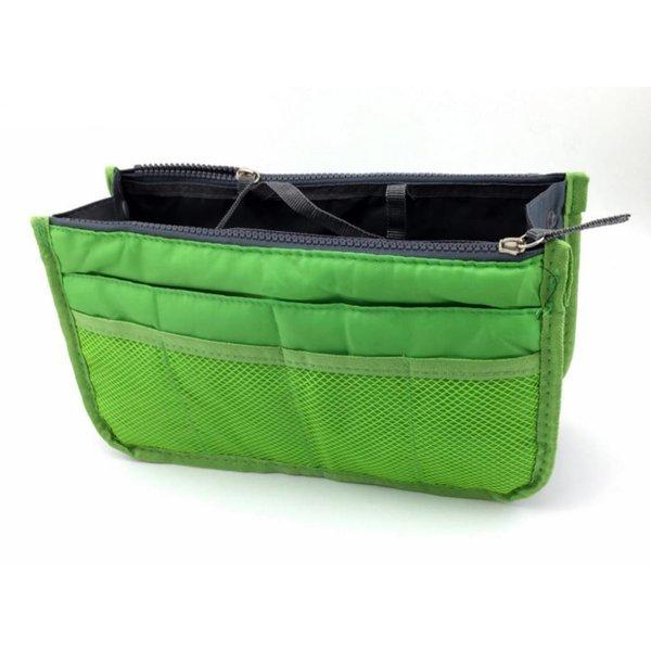 Bag in bag hand tas organizer - Licht groen