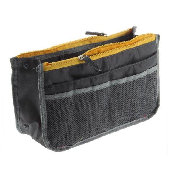 Bag in bag hand tas organizer – Grijs