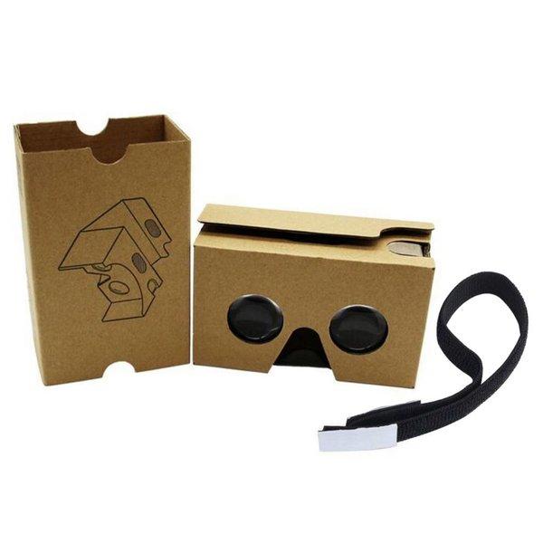 Google cardboard V2 inclusief hoofdband / Virtual reality 3D bril