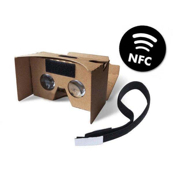 Google cardboard V2 inclusief hoofdband + NFC chip