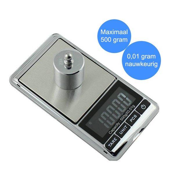 Digital scale - Mini precisie weegschaaltje 0,01 tot 500 gram