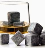 Whiskey stones - Ijsblokken van natuursteen - set van 9 stuks