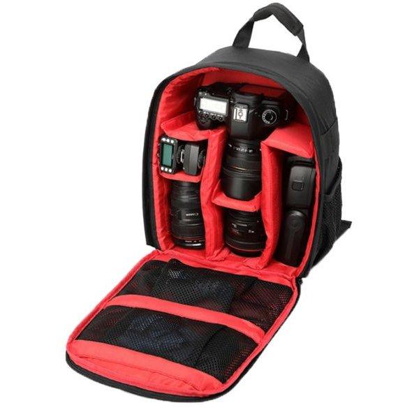 Tigernu camera tas / rugzak rood - Bescherm uw (spiegelreflex) camera!