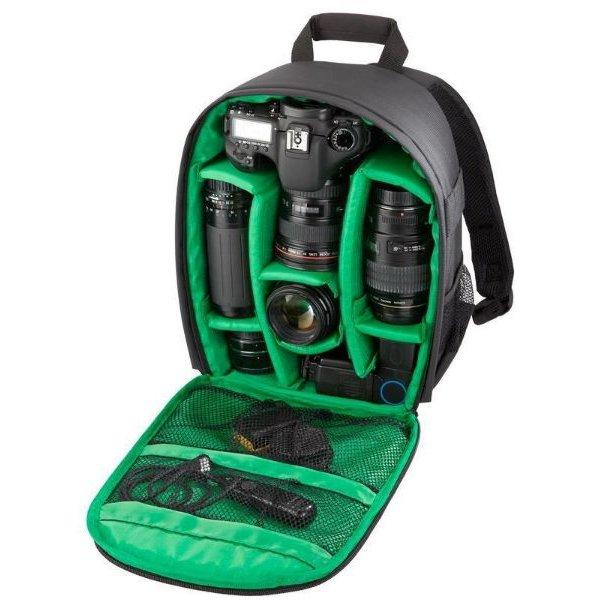 Tigernu camera tas / rugzak groen - Bescherm uw (spiegelreflex) camera