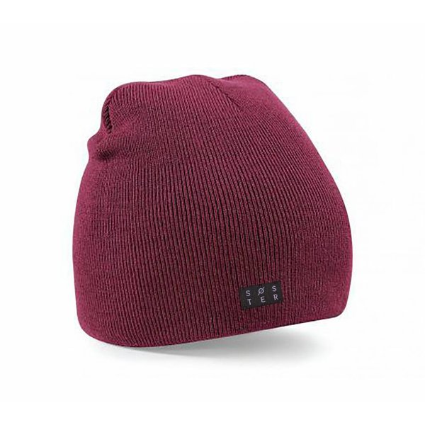 Soster beanie rood