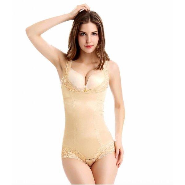 Shapewear voor vrouwen - figuurcorrigerend ondergoed Beige/huidskleur