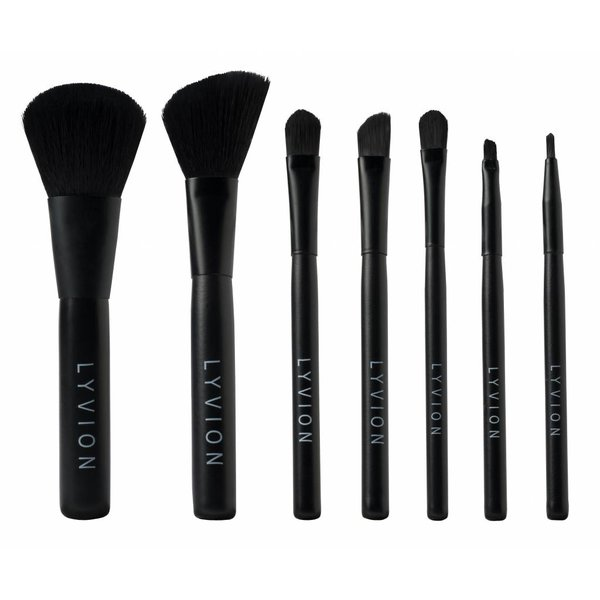 7-delige brush set voor professionals – LYVION ARTIST TOOLS