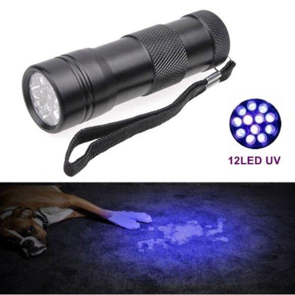 Professionele LED Ultra Violet Zaklamp
