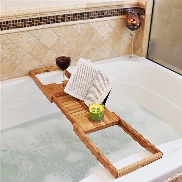 Badrekje - Ontspannen in bad met een boek of tablet en een wijntje! - Universeel