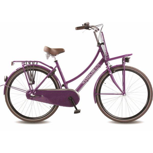 Elite damesfiets 28 inch Purple 50cm