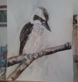 Aquarel Kookaburr