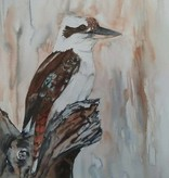 Aquarel Kookaburra