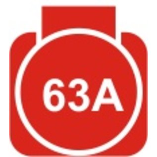 Huur verlengkabel 63A(400V) CEE Neopreenkabel