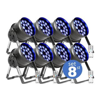 LED par set 8
