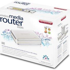 Sitecom Sitecom WL-350 Wireless Media Router 300N 2,4-5Ghz