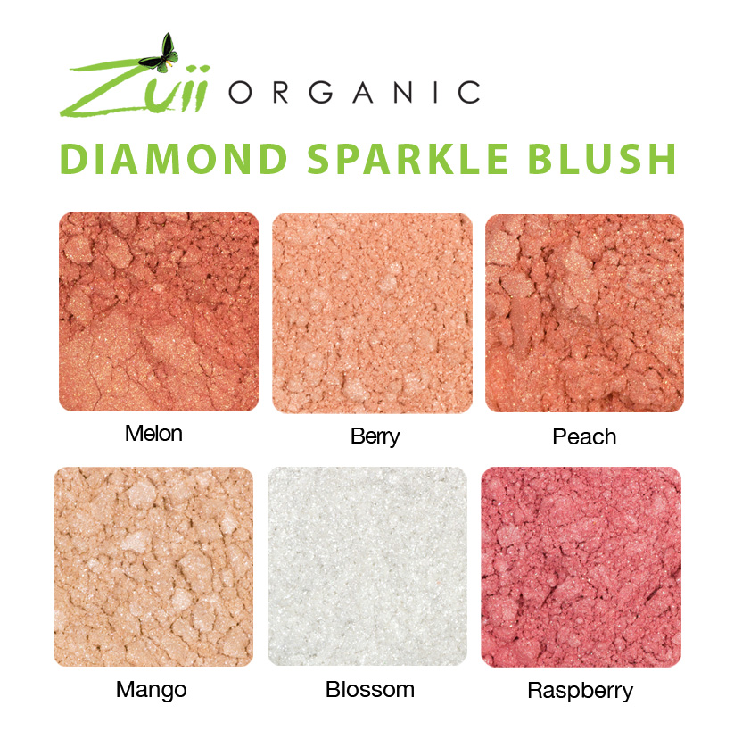 diamond sparkle blush