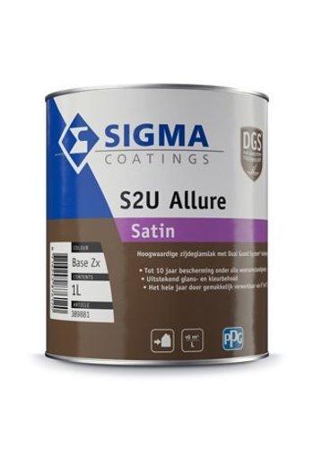 Sigma S2U Allure satin en Sigma Contour Protect PU Satin