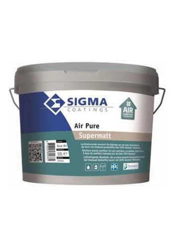 Sigma Air Pure Supermatt 10 liter