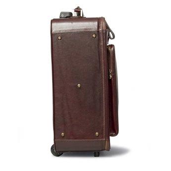 luxus leder reisetasche in braun the exclusive man. Black Bedroom Furniture Sets. Home Design Ideas
