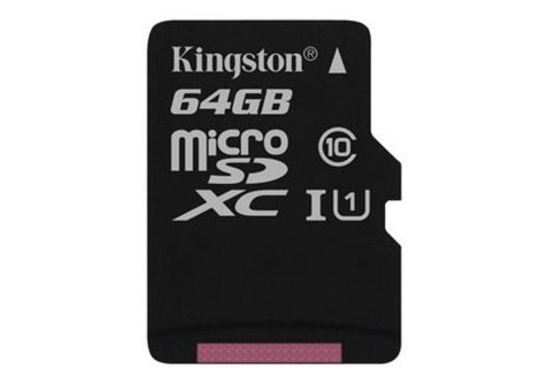 Kingston 64 GB flash geheugenkaart dashcam