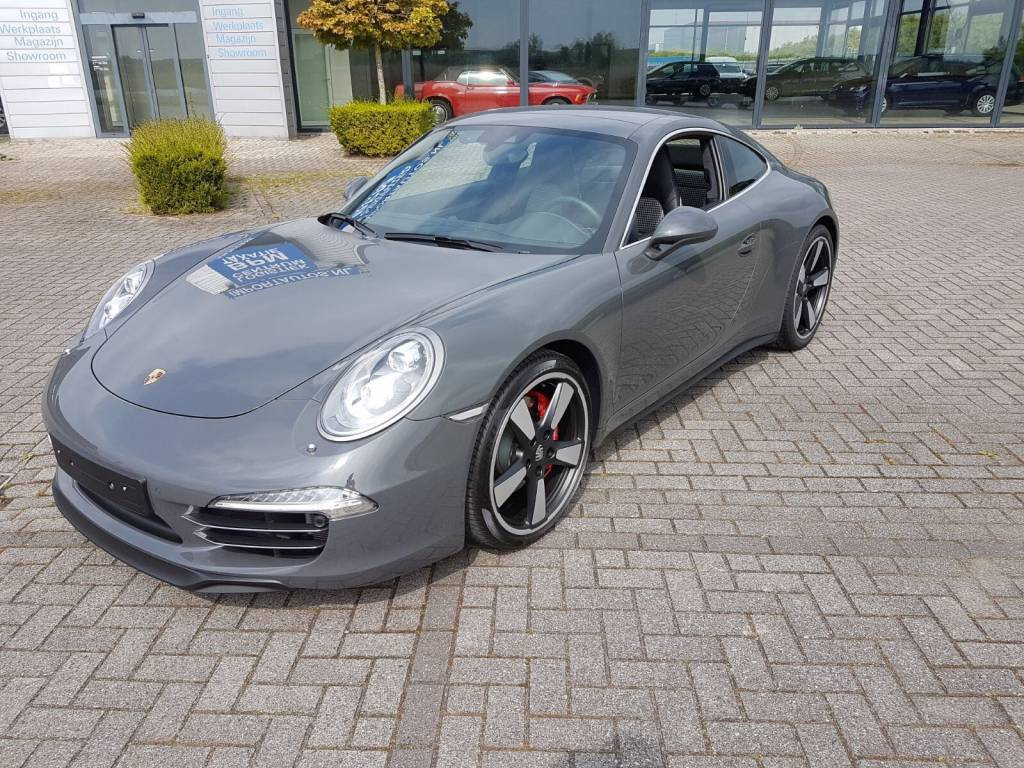 Installatie dashcam bijzondere Porsche!