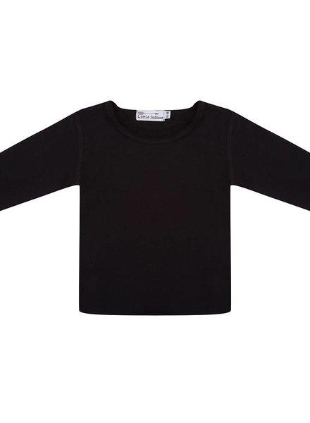 Basic t shirt lange mouwen zwart