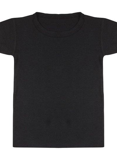 Basic t shirt zwart