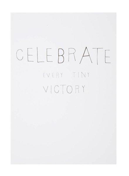 Celebrate postcard